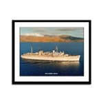 USS JASON Framed Panel Print