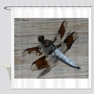 Dragonfly! nature photo, Shower Curtain