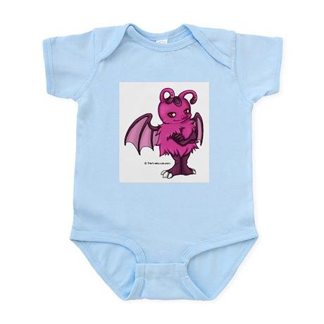 Pink Gretchling Infant Creeper