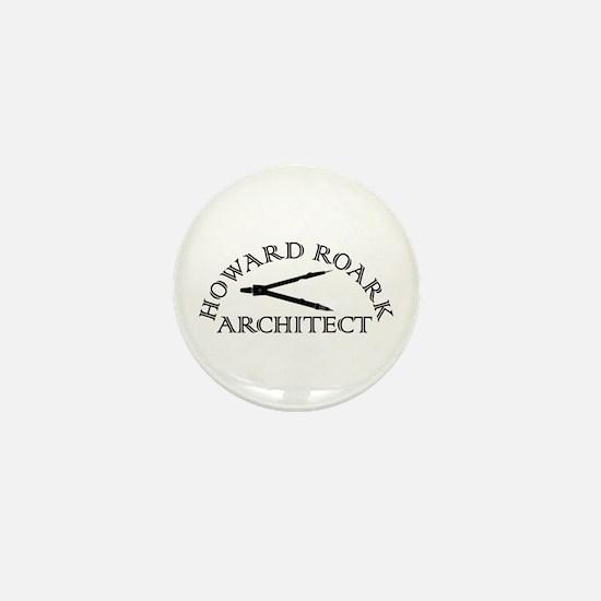 Howard Roark Mini Button