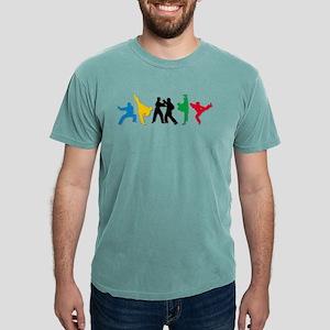 Tae Kwon Do Kicks Mens Comfort Colors Shirt