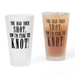 Groom Bachelor Drinking Glass
