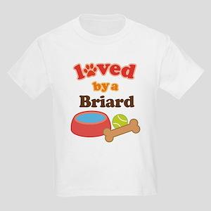 Briard Dog Gift Kids Light T-Shirt