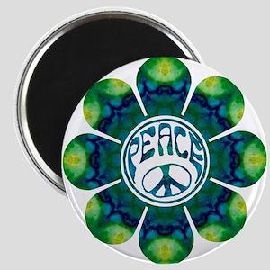 Peace Flower - Meditation Magnet