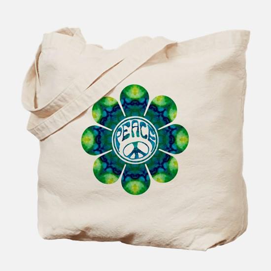 Peace Flower - Meditation Tote Bag