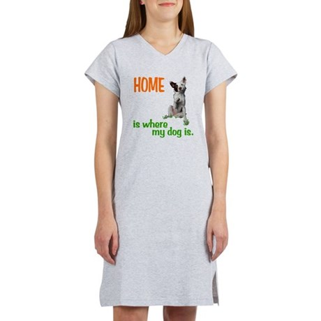 Home is where Women's Nightshirt