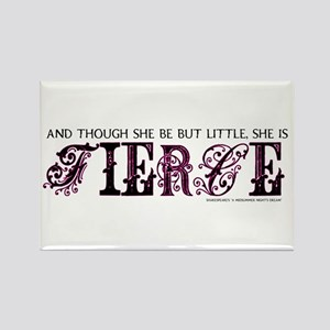 She is Fierce - Ecelectic Rectangle Magnet