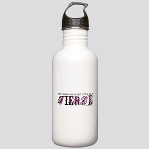 She is Fierce - Ecelectic Stainless Water Bottle 1