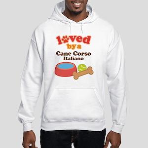Cane Corso Italiano Dog Gift Hooded Sweatshirt