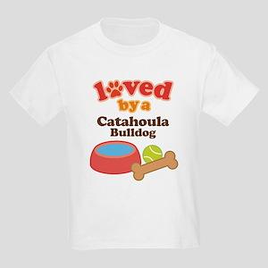 Catahoula Bulldog Pet Gift Kids Light T-Shirt