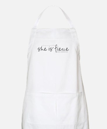 She is Fierce - Handwriting 2 Apron