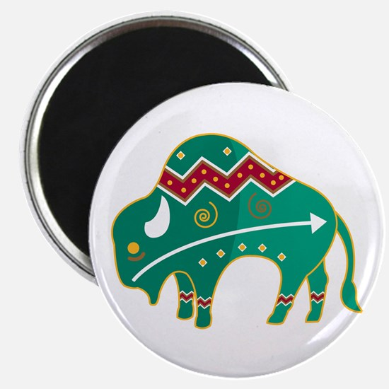 Indian Spirit Buffalo Magnet