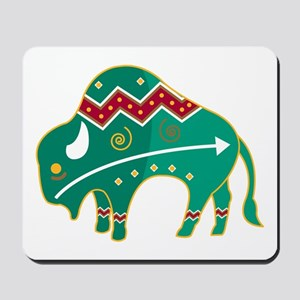 Indian Spirit Buffalo Mousepad