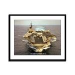 USS JOHN F. KENNEDY Framed Panel Print