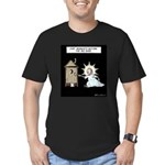 The Big Bang Men's Fitted T-Shirt (dark)