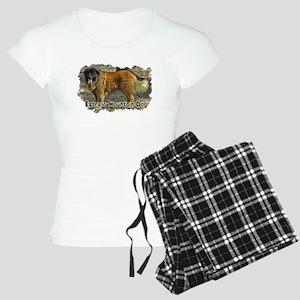 Estrela Mountain Dog Photo Women's Light Pajamas