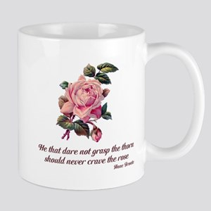Brave Rose Mug