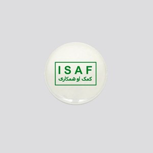 ISAF - Green (2) Mini Button