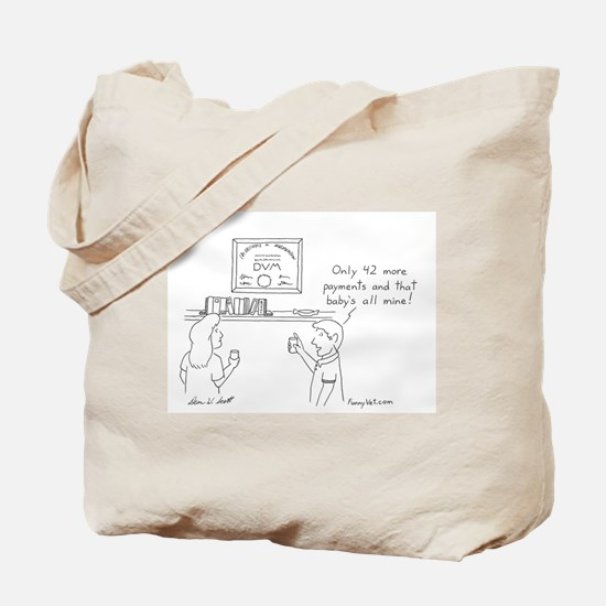 Veterinary Student Graduation Tote Bag