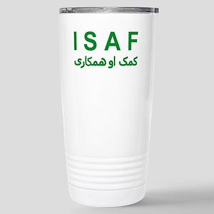 ISAF - Green (1) Stainless Steel Travel Mug