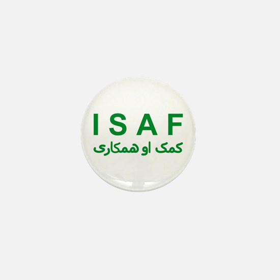 ISAF - Green (1) Mini Button