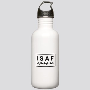 ISAF - B/W (2) Stainless Water Bottle 1.0L