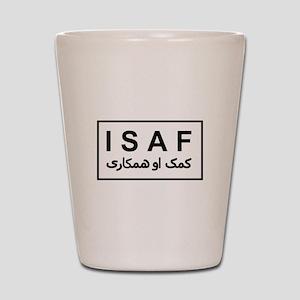ISAF - B/W (2) Shot Glass