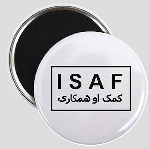 ISAF - B/W (2) Magnet