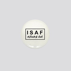 ISAF - B/W (2) Mini Button