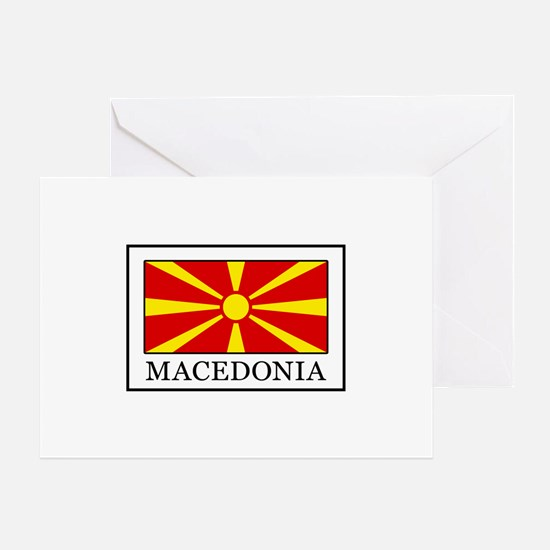 Funny Macedonia Greeting Card