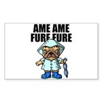 AMEAME FUREFURE Sticker (Rectangle)