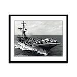 USS KEARSARGE Framed Panel Print