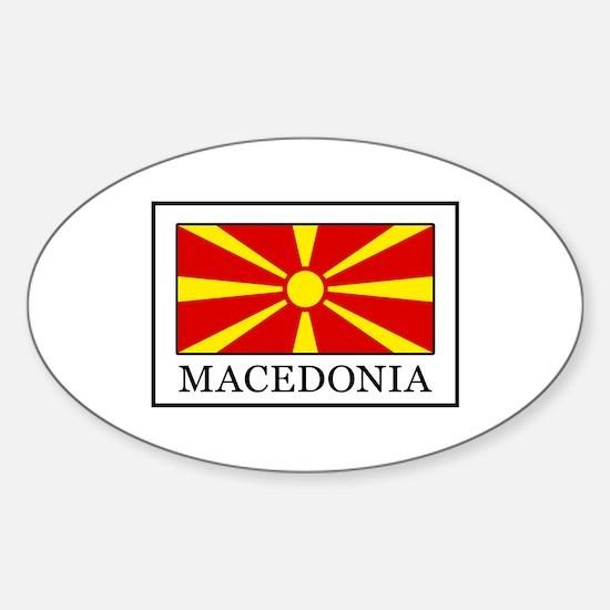 Macedonia Decal