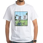 Dog and Discus Thrower White T-Shirt