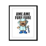 AMEAME FUREFURE Framed Panel Print