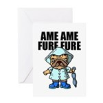 AMEAME FUREFURE Greeting Card