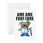 AMEAME FUREFURE Greeting Cards (Pk of 10)