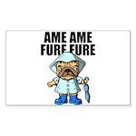 AMEAME FUREFURE Sticker (Rectangle)