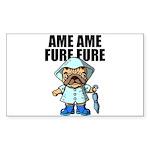 AMEAME FUREFURE Sticker (Rectangle 50 pk)