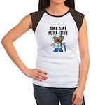 AMEAME FUREFURE Women's Cap Sleeve T-Shirt