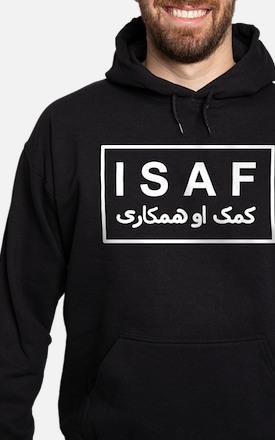 ISAF - B/W (2) Hoodie (dark)