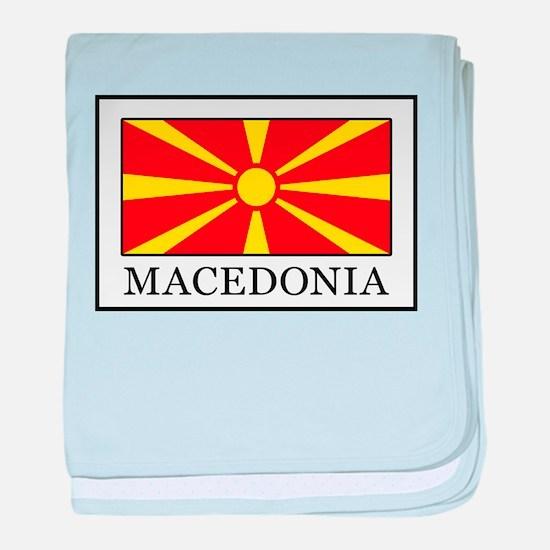 Macedonia baby blanket