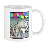 Dog party Toilet water Punch Mug