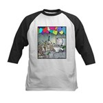 Dog party Toilet water Punch Kids Baseball Jersey