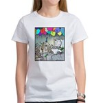 Dog party Toilet water Punch Women's T-Shirt