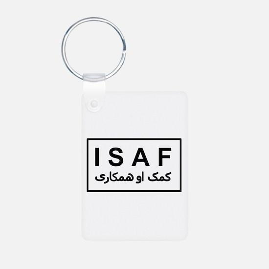 ISAF - B/W (1) Keychains