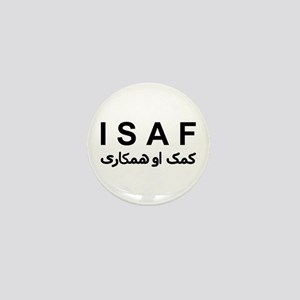 ISAF - B/W (1) Mini Button