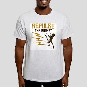 Repulse The Monkey Ash Grey T-Shirt