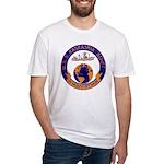 USS KASKAKIA Fitted T-Shirt