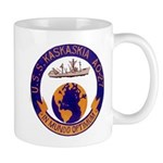 USS KASKAKIA 11 oz Ceramic Mug
